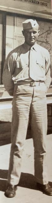 Dad in his Marine Corps uniform